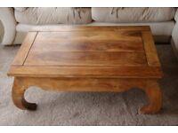 Myakka Indian Oak Coffee Table