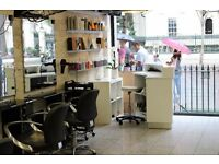 Rent a Chair or Space at a Boutique Salon in Notting Hill Area