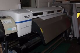 Epson Large Format Graphics Printer, Computer, Sign lab 9.1 with dongle