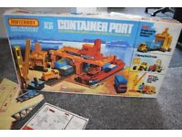 Boxed Matchbox Container Port. 1970's playset Complete free UK delivery