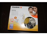 Medela Swing Breast Pump with Calma Teat and Bottles