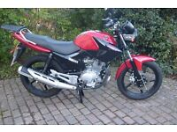 Yamaha YBR 125 Very low mileage