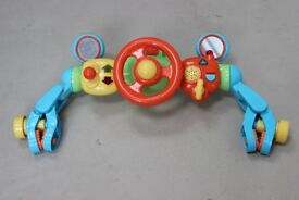 ELC Colourful Car Steering Wheel Light Up and Sounds.