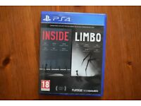 PS4 Game Inside & Limbo Playstation 4