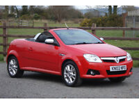 2007 VAUXHALL TIGRA 1.3 DIESEL SPORT CONVERTIBLE **IMMACULATE!!**