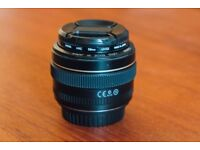Canon 50mm/f1.4 lens with UV filter