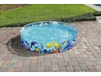 BestWay Animal Fill Fun 6 foot (1.8 meter) Pool - No need to inflate