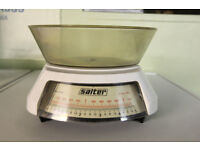 Salter Kitchen Scales incl Mixing Bowl Vintage