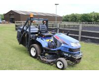 iseki high lift mower + VAT