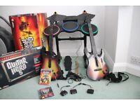 PS3 - Guitar Hero World Tour with extra Guitar Hero 5 Kit