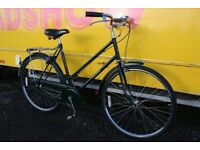 Ladies Vintage Raleigh Sports Single Speed Town Bike 21 Inch Fully Serviced FREE DELIVERY