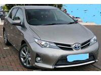 2015 Toyota Auris Excel hybrid service top model pano roof leather navigation one owner low miles!!