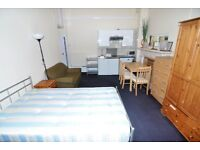A nice and spacious double room with own bathroom, suitable for a couple