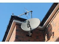 TV & Satellite Services, Sky Dish Fitting, Aerial installation and TV Wall mounting