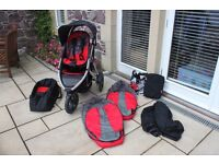 Phil & Teds Vibe Inline Double Pushchair