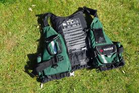 Paddleboarding/Canoe Life Jacket, Boots & dry bag