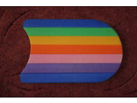 rainbow swim float