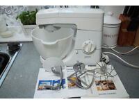 Kenwood Chef KM200 in nice condition working fine with papers and attachments