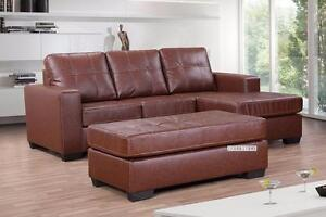 ifurniture Warehouse sale --Sectional Sofa with Big Ottoman *Reversible & Sofa Bed $899!!