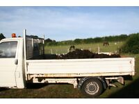 Horse Manure Muck Delivered or Loaded for Allotments and Gardens