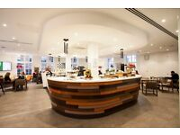 Cafe Staff (September start), 40 hours Fixed Term Monday to Friday, Central London