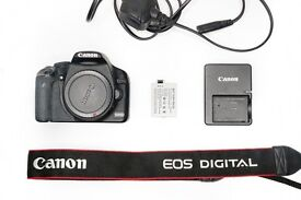 Canon EOS 500D / Rebel T1i 15.1MP Digital SLR Camera Black Set