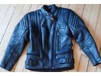 Akito T Force leather jacket size 10 excellent condition