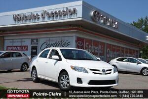 2013 Toyota Corolla D PKG 5 SPEED