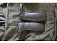 Toggi Size 12 (Child) Black Riding Boots (Kingsbury)