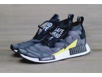 f76e9cf418e Adidas NEIGHBORHOOD BAPE NMD TS1 Stealth - LIMITED EDITION - BNWT - UK 10