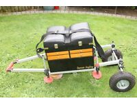 Danson Angling Fishing Seat Box with wheels