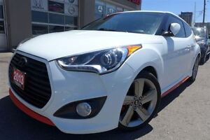 2013 Hyundai Veloster Turbo w/Colour Pack. Navigation. Leather