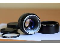 CARL ZEISS 50mm F/1.4 ZE Planar LENS