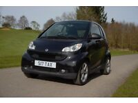 ****Smart Fortwo, All Black, 2008 Pulse, Alloy wheels, 1.0l, 61k miles, - £2100****