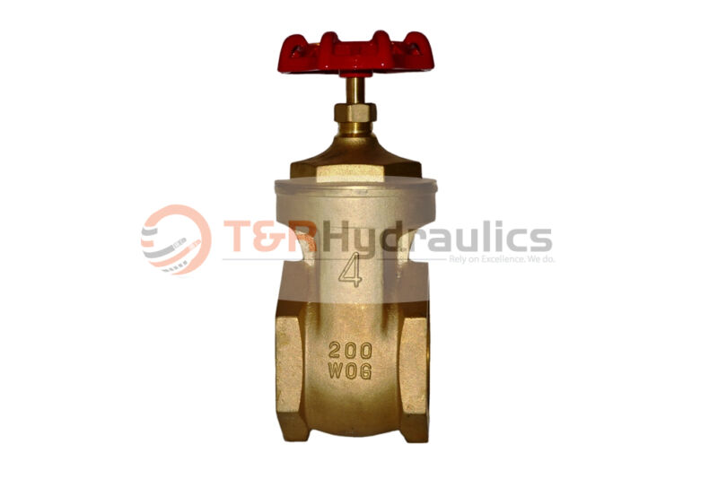 "4"" Full Port Brass Gate Valve"