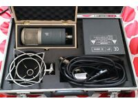 SE Electronics Dual Vacuum Tube Valve Large Diaphragm Condenser Microphone Rare!