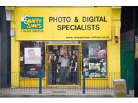 Part Time Sales Assistant Wanted for busy Snappy Snaps Store in SW London