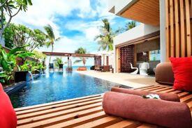 Lamai, Koh Samui, Thailand Beachfront Villa