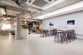 Co-working desk space in Hackney East London, a second home for creative freelancers