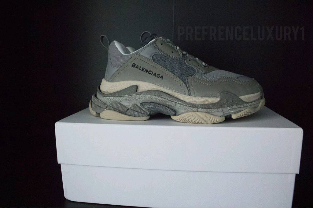 0c814aaa27 Balenciaga Triple S Grey Size 8 | in Wimbledon, London | Gumtree
