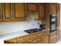 Fitted kitchen for sale with appliances