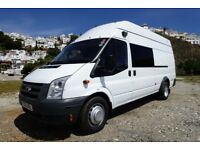 FORD TRANSIT CAMPER / DAY-VAN - Immaculate condition, low miles & fully serviced.