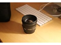 Sigma 50mm f/1.4 Canon fit camera lens
