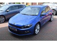 Volkswagen Scirocco 2.0 TDI BlueMotion Tech GT 3dr. Low Miles, Night Blue.