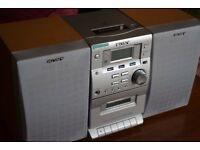 Sony Stereo CD and Tape Mini System CMT-EP30