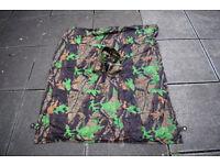 Fleecy Reversible Poncho Cape Thingy (oakleaf camo)
