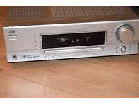 JVC DIGITAL AUDIO RX-5032V AMP 200W CAN BE SEEN WORKING