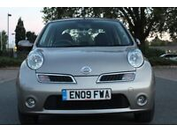 NISSAN MICRA 1.2CC YEAR 2009 ONE OWNER CAR WITH FSH