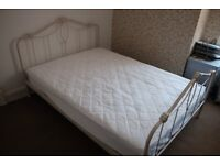 Laura Ashley 'Emily' double bed plus mattress for sale - new/unused