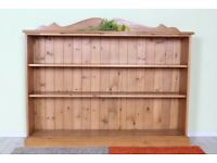 DELIVERY OPTIONS - 5 FT SOLID PINE BOOKCASE WAXED WELL MADE